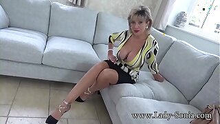 Disconsolate JOI detach from stunning adult Lady Sonia