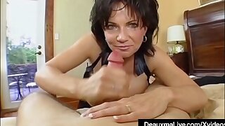 Mature Milf Deauxma Has Big Squirting Orgasm On touching Boy Toy!