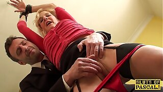 Mature uk have seats gets cuffed and dominated over