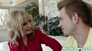 Busty mature lady pounded with young weasel words