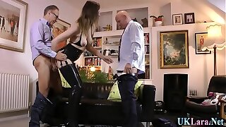 Mature brit creampied