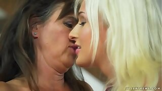 Mature comprehensive and her younger lesbian friend - Mariana and Daisy Lee