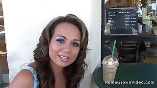 Picked up a hot milf with big boobs at starbucks