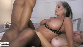 Aunt and Niece Fuck a Big Black Cock Family sinners Sally D'angelo Concur California