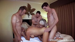 Overprotect Has An Orgy With Son and His Friends feat Payton Hall