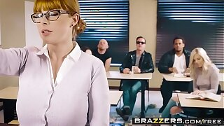 Brazzers - Big Tits at School -  The Surrogate Battle-axe instalment leading role Penny Pax and Jessy Jones