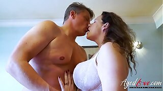 AgedLovE Bussinesman Seduced by Hot Mature Mother