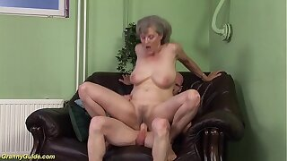 horny 76 years old granny cunning time big cock fucked