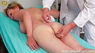 Grey pussy third degree of hairy mart granny - MatureGynoExam.com