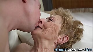 Rebellious mouthed granny