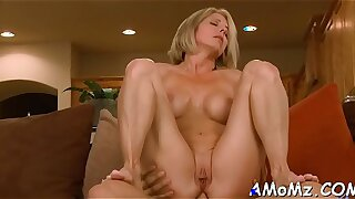 Red-hot hot mom wants for orgasm