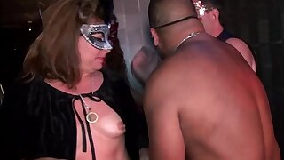 Young swingers-hot MILFs go wild in Trapeze Club-NEW-FULL video now overhead In flames