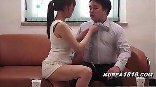 hot korean big gun cougar loves females