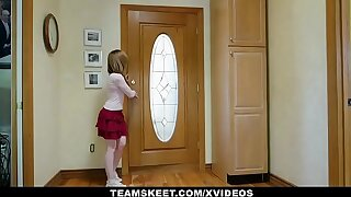 ExxxtraSmall - Hot Teen Fucked By Panty Stealing Stepmom