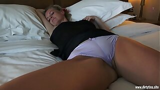 Horny fuck in the matter of sleeping Mom