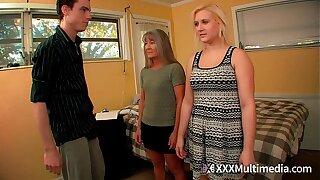 Sissified Training Step mom Leilani Lei and Sister Fifi Foxx