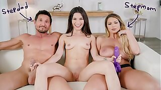 FILTHY FAMILY - Gianna Pearl of great price Learns To Fuck With Their way Step Parents Brooklyn Chase & Tommy Gunn