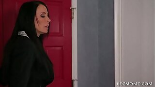 MOMMY'S GIRL - I was caught on having phone sex by my Stepmom - Reagan Foxx and Riley Anne