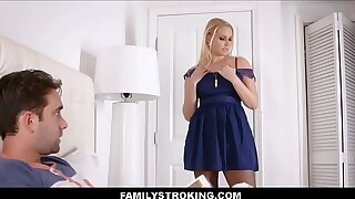 Step Mom Vanessa Cage Seduces Son