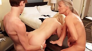 Taboo Aiden Valetine Fucks Performance Florence Nightingale Fifi Foxx with Performance Mom