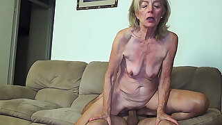 81 years aged mom banged by stepson