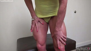 Ashlee Chambers is overconfident be advisable for her big clit