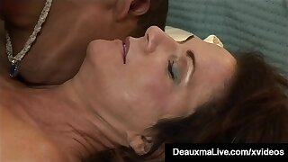 Hung Young Sooty Stud Fucks Hot Matured Mommy Deauxma!