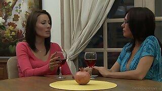 Zoey Holloway Introduces Raquel Sieb In the air MILF Lesbian Sex