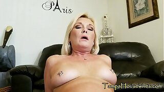 A Son Gets in the matter of Creampie His Mom TWICE