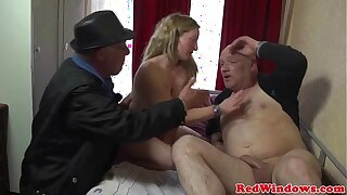 Young dutch whore fucks an age-old man illogical