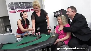 Unfamiliar BlackJack to Grandparents Orgy