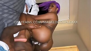 Mrs.Masked creams helter-skelter bbc with cum helter-skelter her face! Duo pill popper to her face and Creampie in her pussy sample cum shots! Instagram @mrs.masked twitter @mrsmasked subscribe to my onlyfans for $7.50 to espy full sextapes!!