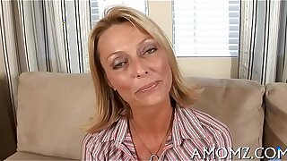 X-rated mature in a banging action