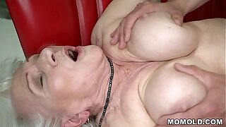 Norma the Titillating Cleaning Lady Finding some Porn beyond Laptop And Drilled